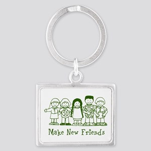 Make New Friends Keychains