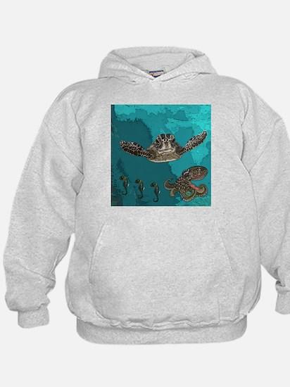 Sea creatures Hoodie