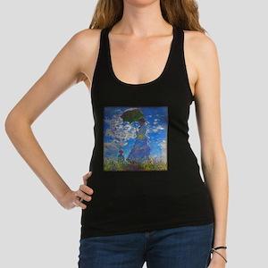 Monet - Woman with a Parasol Racerback Tank Top