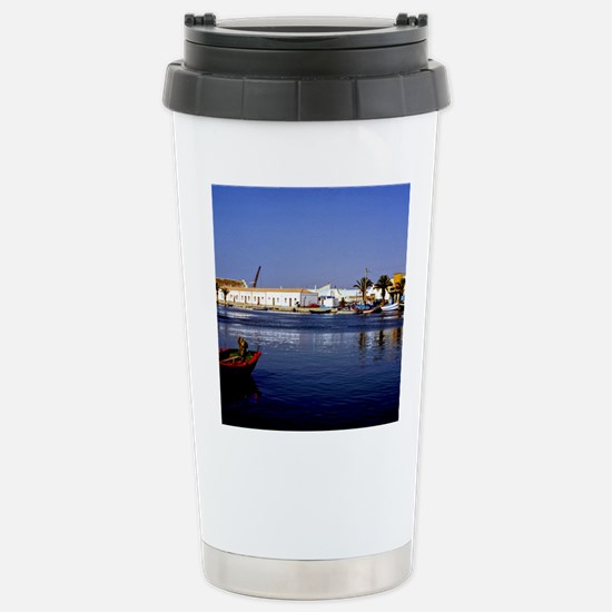 Portugal Seaside Stainless Steel Travel Mug