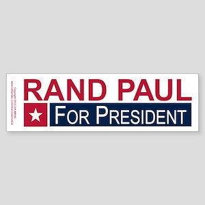 Elect Rand Paul President Sticker (Bumper)