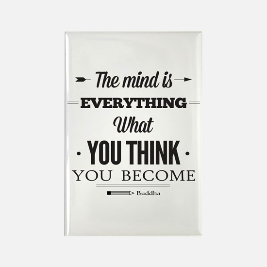 Buddha Saying - The Mind Is Everything ... Rectang