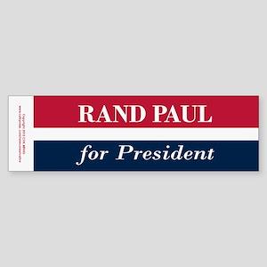 Rand Paul for President Sticker (Bumper)