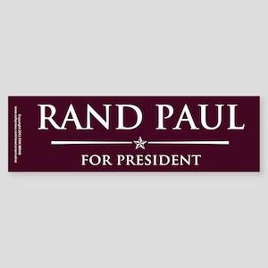 Vote Rand Paul President Sticker (Bumper)
