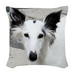 Silken Ears! Woven Throw Pillow