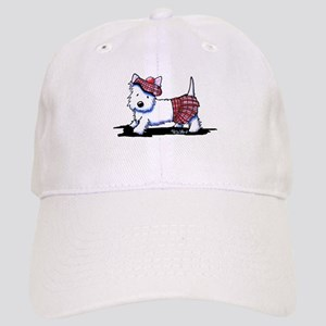 KiniArt Westie Red Kilt Cap