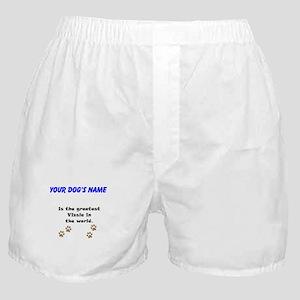 Greatest Vizsla In The World Boxer Shorts