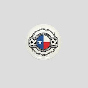 Texas Soccer Mini Button