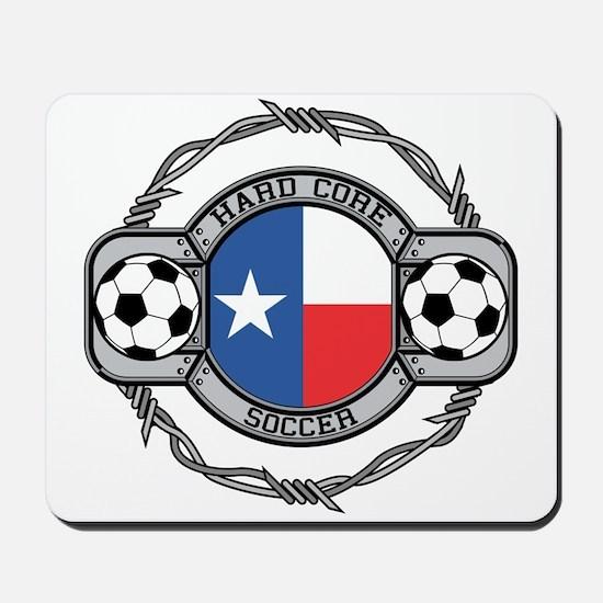 Texas Soccer Mousepad