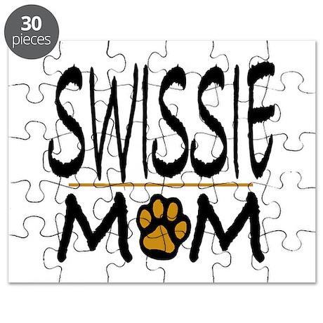 Swissie mom Puzzle
