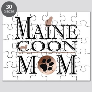 Maine Coon Mom Puzzle