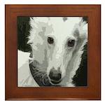 New Silken Portrait Framed Tile