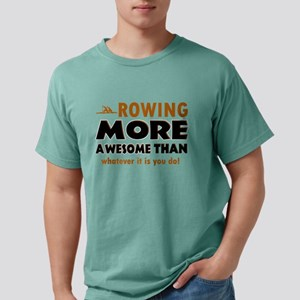 awesome rowing designs Mens Comfort Colors Shirt