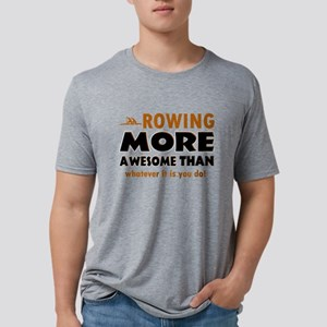 awesome rowing designs Mens Tri-blend T-Shirt