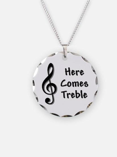 Treble-Black.GIF Necklace
