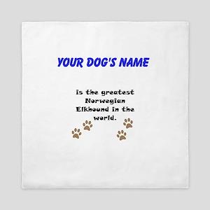 Greatest Norwegian Elkhound In The World Queen Duv