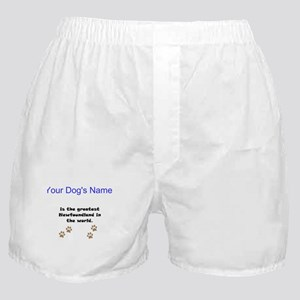 Greatest Newfoundland In The World Boxer Shorts