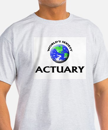 World's Sexiest Actuary T-Shirt