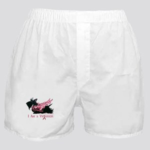 Scottish Breast Cancer Warrior Boxer Shorts