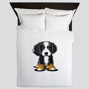 KiniArt Bernese Queen Duvet
