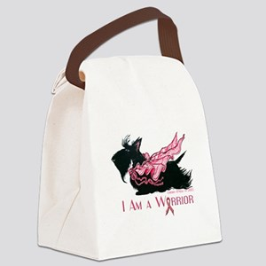 Scottish Breast Cancer Warrior Canvas Lunch Bag
