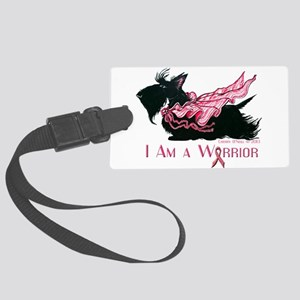 Scottish Breast Cancer Warrior Luggage Tag
