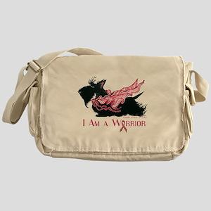 Scottish Breast Cancer Warrior Messenger Bag