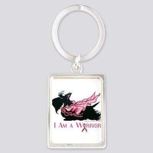 Scottish Breast Cancer Warrior Keychains