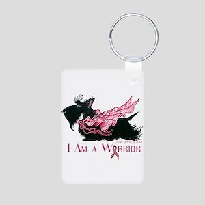 Scottish Breast Cancer Warrior Keychains