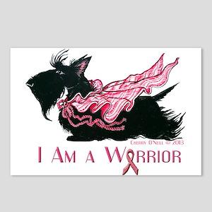 Scottish Breast Cancer Warrior Postcards (Package