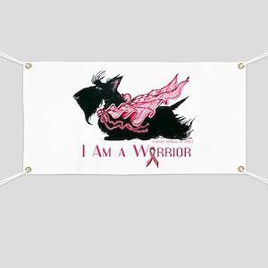 Scottish Breast Cancer Warrior Banner