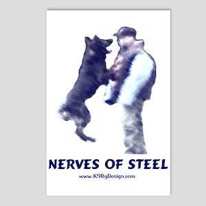 Nerves of Steel Postcards (Package of 8)