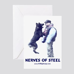 Nerves of Steel Greeting Cards (Pk of 10)