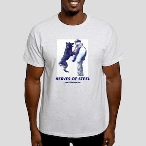 Nerves of Steel Ash Grey T-Shirt