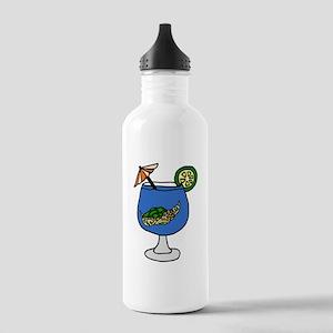 Sea Turtle in Margarita Water Bottle