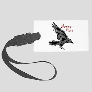 Raven Luggage Tag