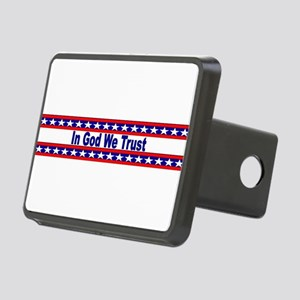 In God stripes Hitch Cover