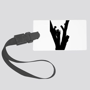Tree Cutter Large Luggage Tag