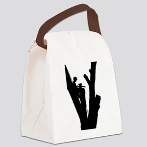 Tree Cutter Canvas Lunch Bag