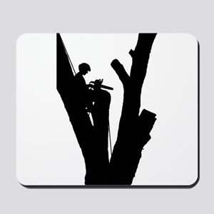 Tree Cutter Mousepad