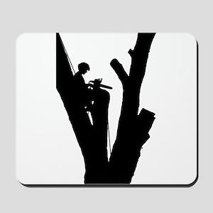 Tree Cutter Mousepad