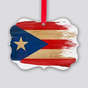 Puerto Rican Flag Ornament