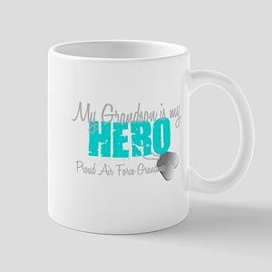 AF Grandma grandson my hero Mug