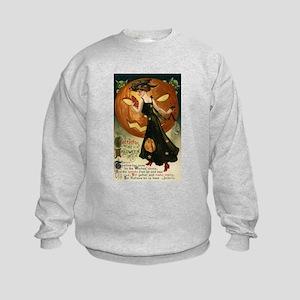 Victorian Halloween Kids Sweatshirt