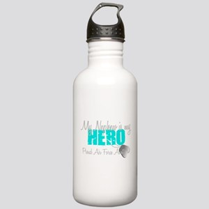 AF Aunt Nephew Hero Water Bottle