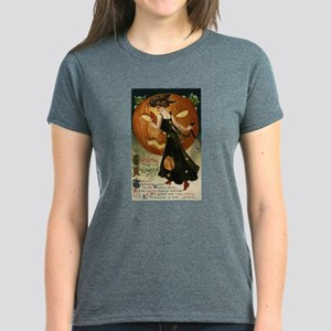 Victorian Halloween Women's Dark T-Shirt