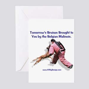 Bruises by Malinois Greeting Cards (Pk of 10)