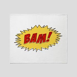 Cartoon Bam Throw Blanket