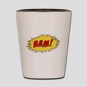 Cartoon Bam Shot Glass