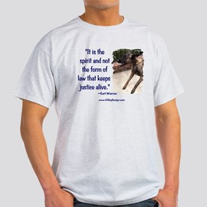 Spirit of Law Ash Grey T-Shirt